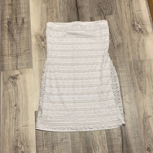 Deb Dresses & Skirts - White mini dress